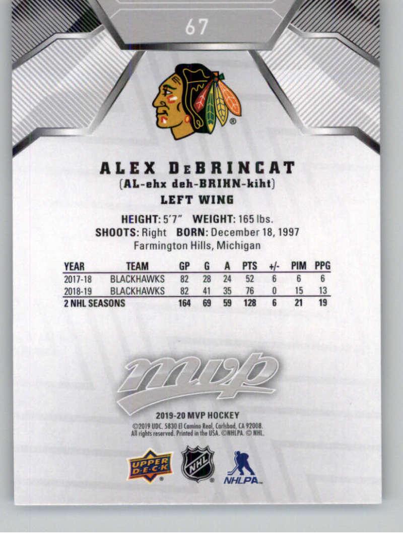 miniature 91 - 2019-20-Upper-Deck-MVP-Silver-Script-NHL-Hockey-Trading-Cards-Pick-From-List