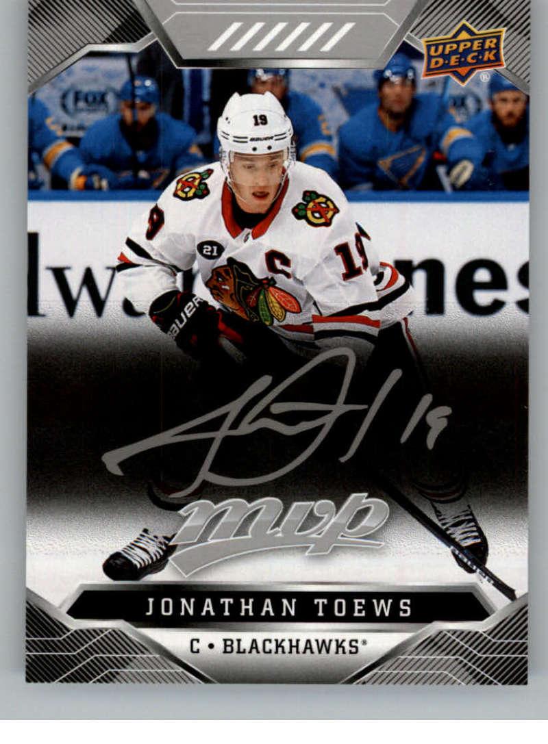 miniature 92 - 2019-20-Upper-Deck-MVP-Silver-Script-NHL-Hockey-Trading-Cards-Pick-From-List