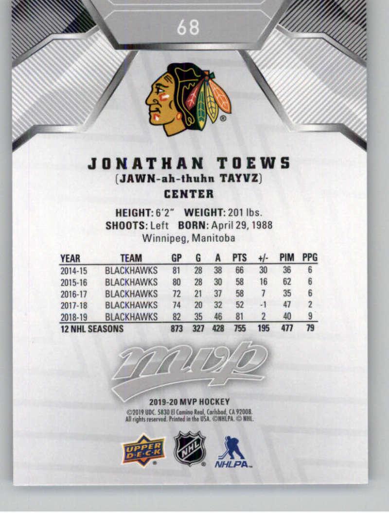 miniature 93 - 2019-20-Upper-Deck-MVP-Silver-Script-NHL-Hockey-Trading-Cards-Pick-From-List