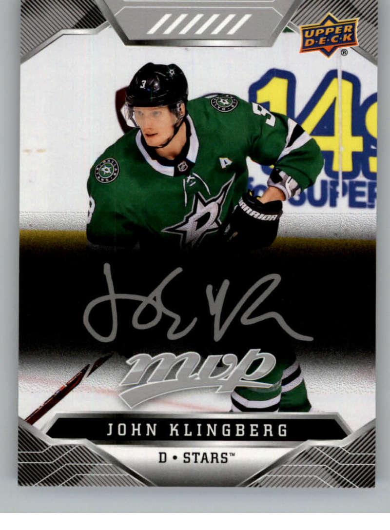 miniature 94 - 2019-20-Upper-Deck-MVP-Silver-Script-NHL-Hockey-Trading-Cards-Pick-From-List