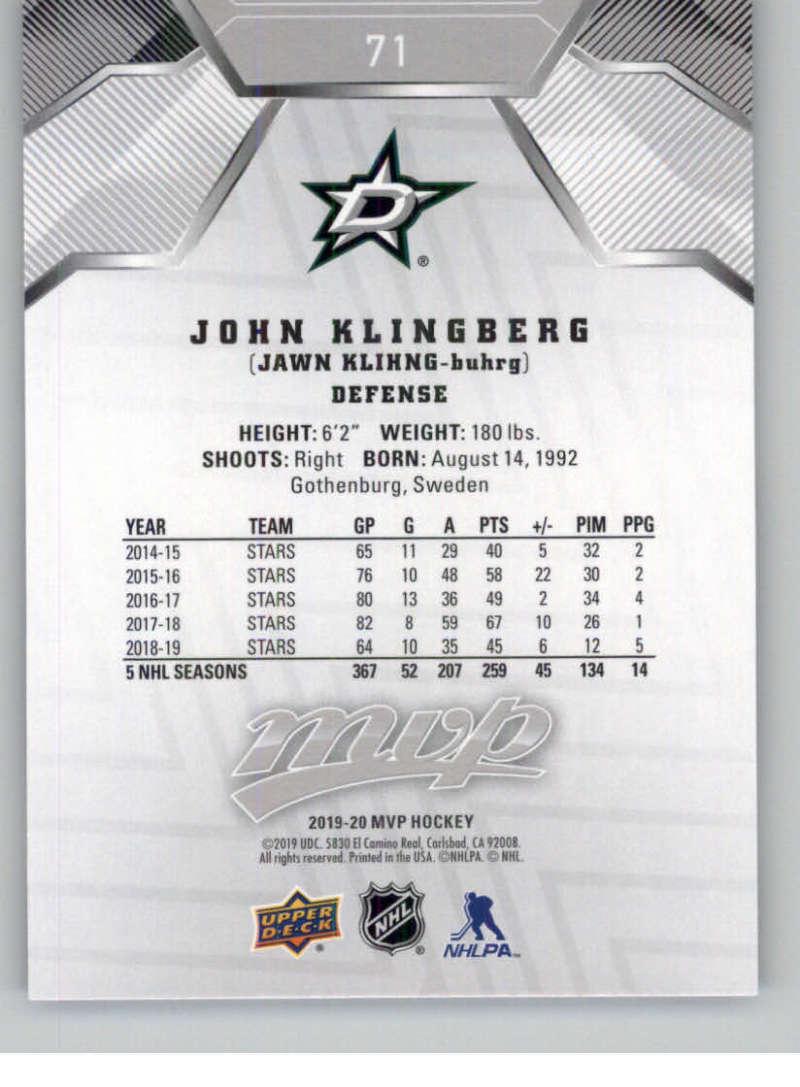 miniature 95 - 2019-20-Upper-Deck-MVP-Silver-Script-NHL-Hockey-Trading-Cards-Pick-From-List