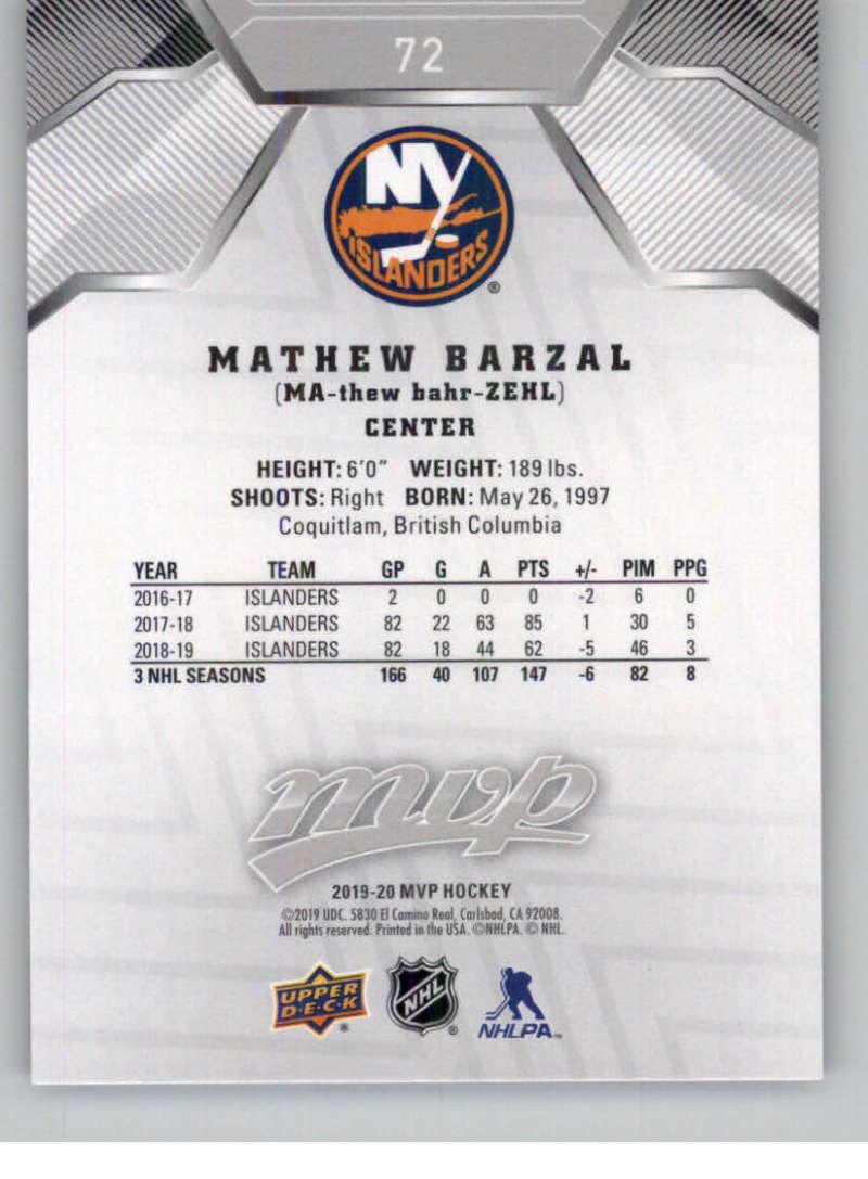 miniature 97 - 2019-20-Upper-Deck-MVP-Silver-Script-NHL-Hockey-Trading-Cards-Pick-From-List
