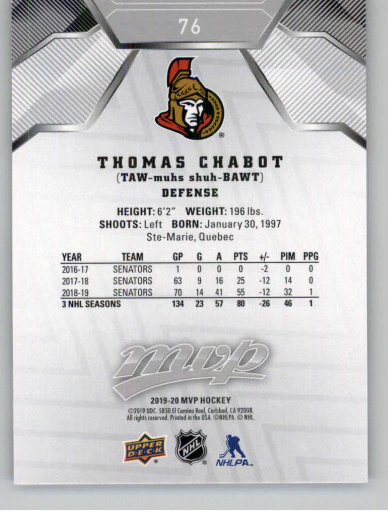 miniature 101 - 2019-20-Upper-Deck-MVP-Silver-Script-NHL-Hockey-Trading-Cards-Pick-From-List