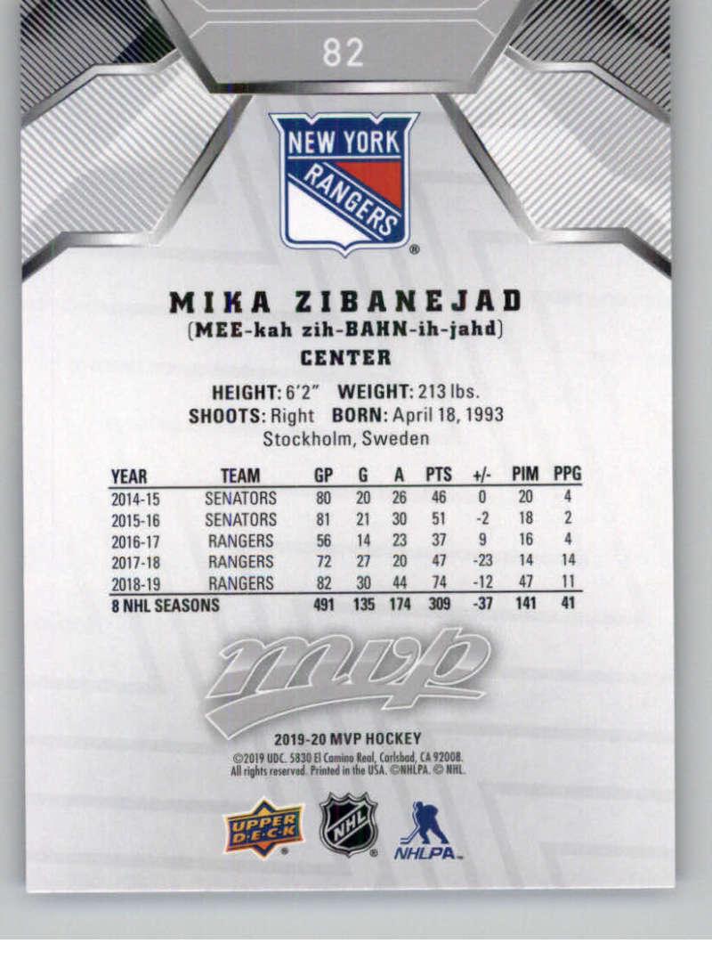 miniature 113 - 2019-20-Upper-Deck-MVP-Silver-Script-NHL-Hockey-Trading-Cards-Pick-From-List
