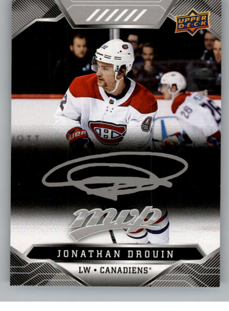 miniature 114 - 2019-20-Upper-Deck-MVP-Silver-Script-NHL-Hockey-Trading-Cards-Pick-From-List
