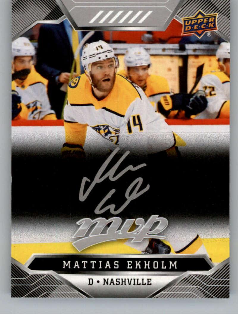 miniature 116 - 2019-20-Upper-Deck-MVP-Silver-Script-NHL-Hockey-Trading-Cards-Pick-From-List