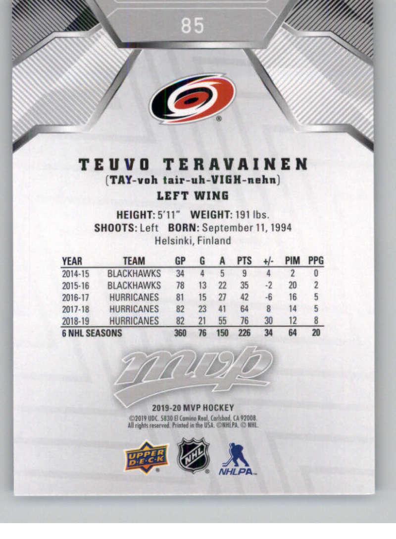 miniature 119 - 2019-20-Upper-Deck-MVP-Silver-Script-NHL-Hockey-Trading-Cards-Pick-From-List