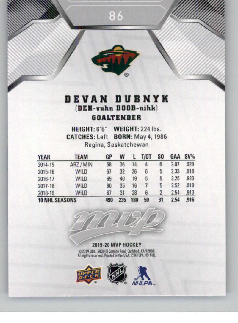 miniature 121 - 2019-20-Upper-Deck-MVP-Silver-Script-NHL-Hockey-Trading-Cards-Pick-From-List