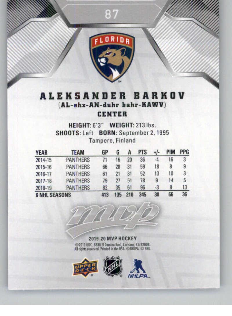 miniature 123 - 2019-20-Upper-Deck-MVP-Silver-Script-NHL-Hockey-Trading-Cards-Pick-From-List