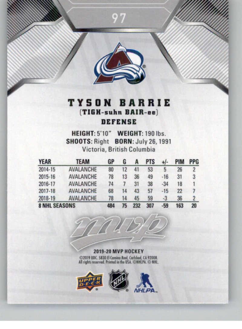 miniature 137 - 2019-20-Upper-Deck-MVP-Silver-Script-NHL-Hockey-Trading-Cards-Pick-From-List