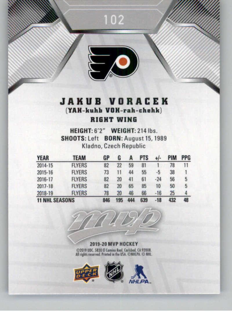 miniature 143 - 2019-20-Upper-Deck-MVP-Silver-Script-NHL-Hockey-Trading-Cards-Pick-From-List