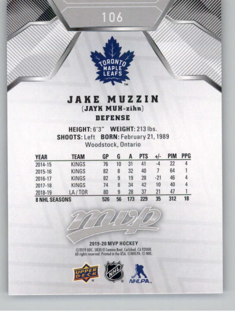 miniature 145 - 2019-20-Upper-Deck-MVP-Silver-Script-NHL-Hockey-Trading-Cards-Pick-From-List