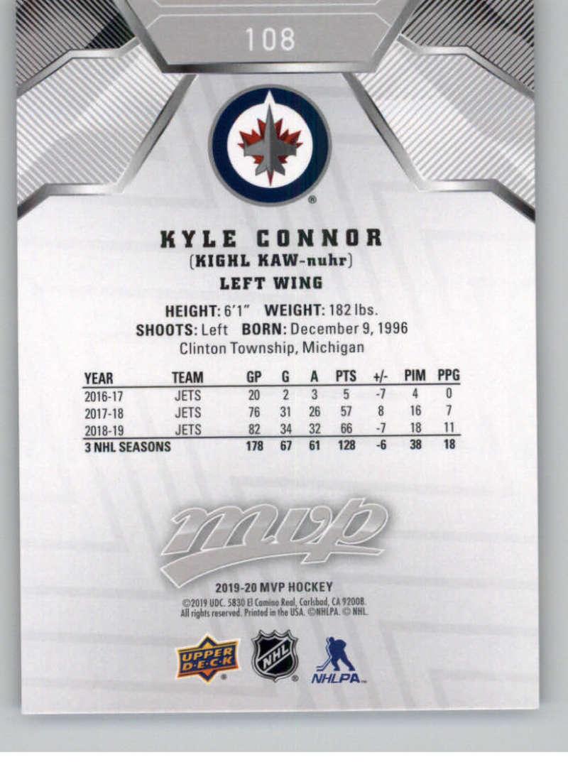 miniature 147 - 2019-20-Upper-Deck-MVP-Silver-Script-NHL-Hockey-Trading-Cards-Pick-From-List