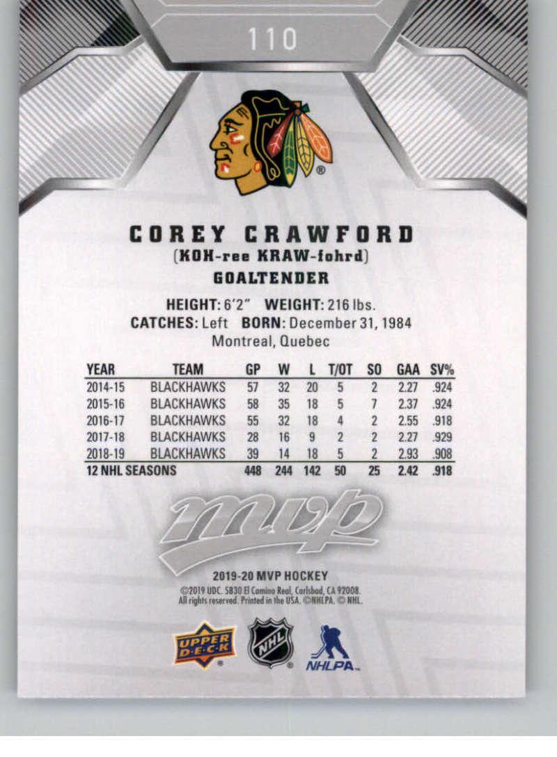 miniature 151 - 2019-20-Upper-Deck-MVP-Silver-Script-NHL-Hockey-Trading-Cards-Pick-From-List