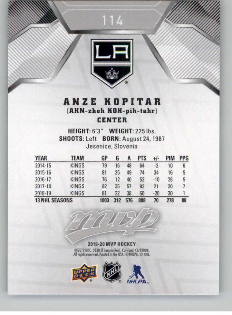miniature 157 - 2019-20-Upper-Deck-MVP-Silver-Script-NHL-Hockey-Trading-Cards-Pick-From-List