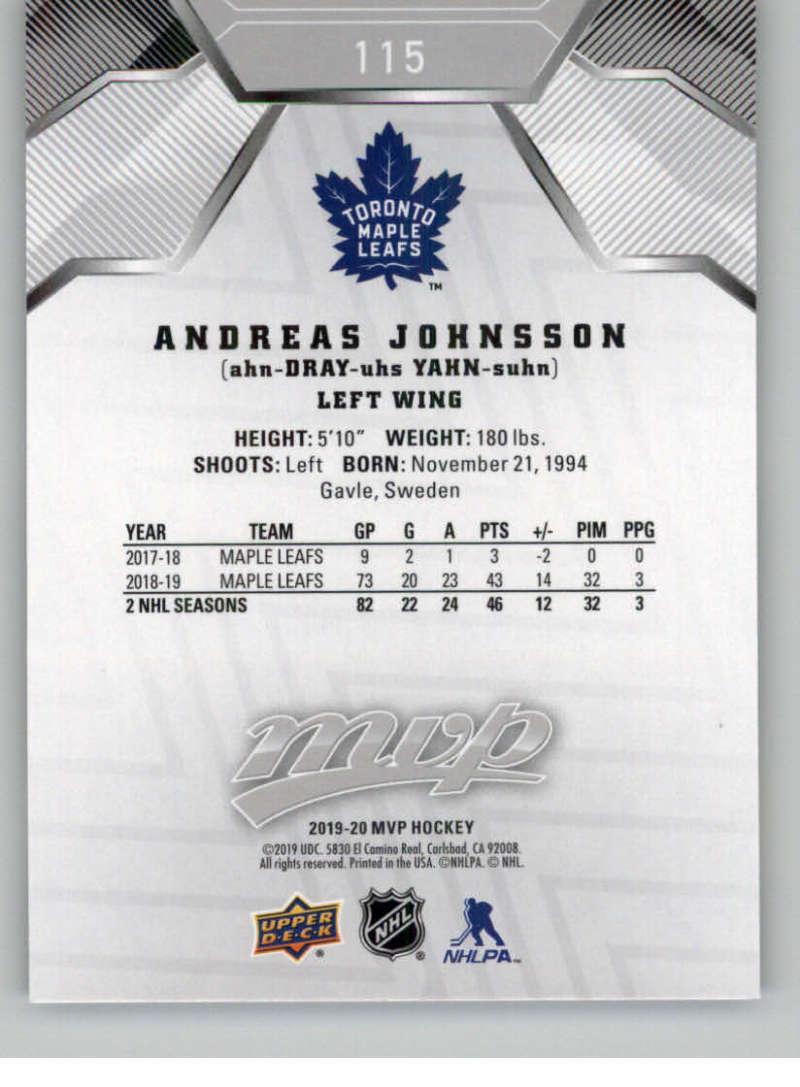 miniature 159 - 2019-20-Upper-Deck-MVP-Silver-Script-NHL-Hockey-Trading-Cards-Pick-From-List