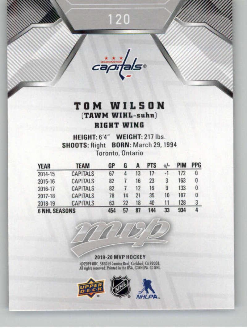 miniature 169 - 2019-20-Upper-Deck-MVP-Silver-Script-NHL-Hockey-Trading-Cards-Pick-From-List