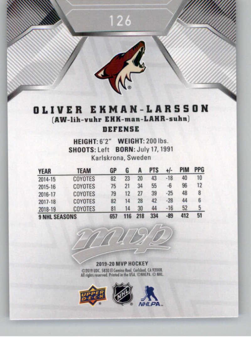 miniature 179 - 2019-20-Upper-Deck-MVP-Silver-Script-NHL-Hockey-Trading-Cards-Pick-From-List