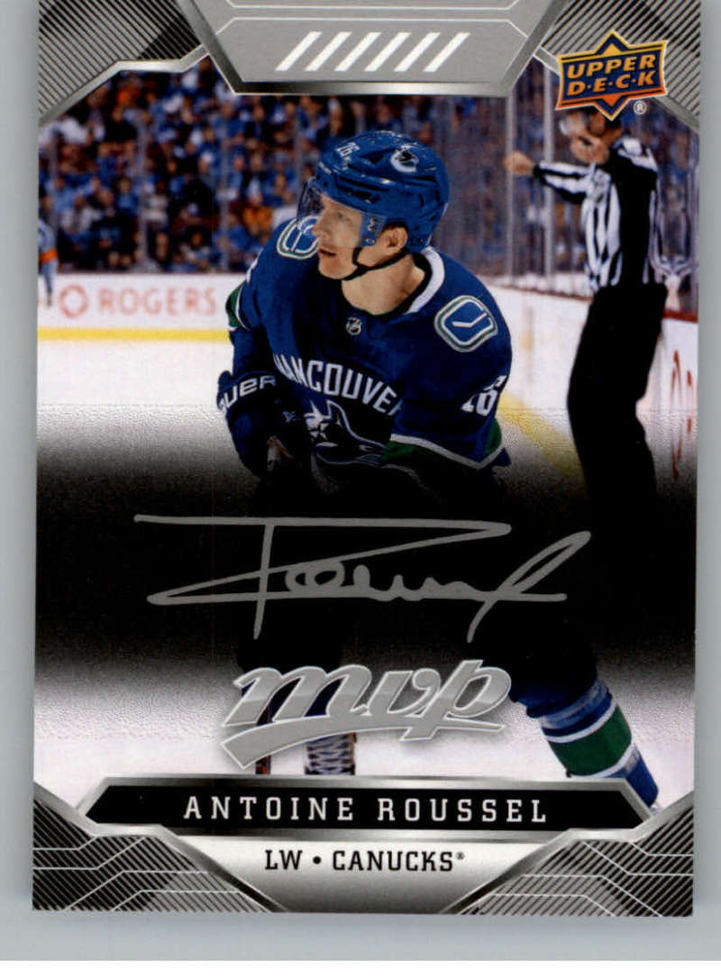 miniature 180 - 2019-20-Upper-Deck-MVP-Silver-Script-NHL-Hockey-Trading-Cards-Pick-From-List