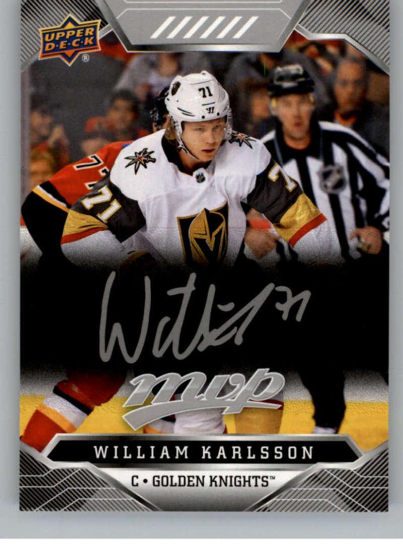 miniature 184 - 2019-20-Upper-Deck-MVP-Silver-Script-NHL-Hockey-Trading-Cards-Pick-From-List