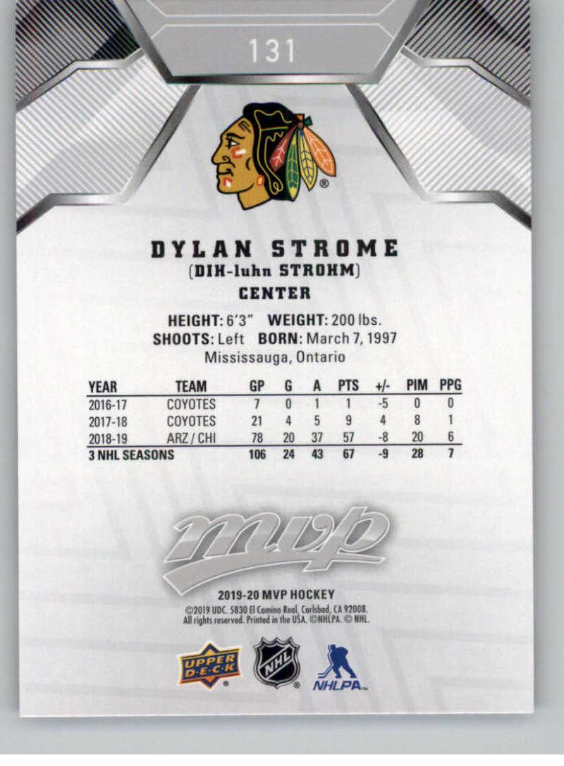 miniature 187 - 2019-20-Upper-Deck-MVP-Silver-Script-NHL-Hockey-Trading-Cards-Pick-From-List