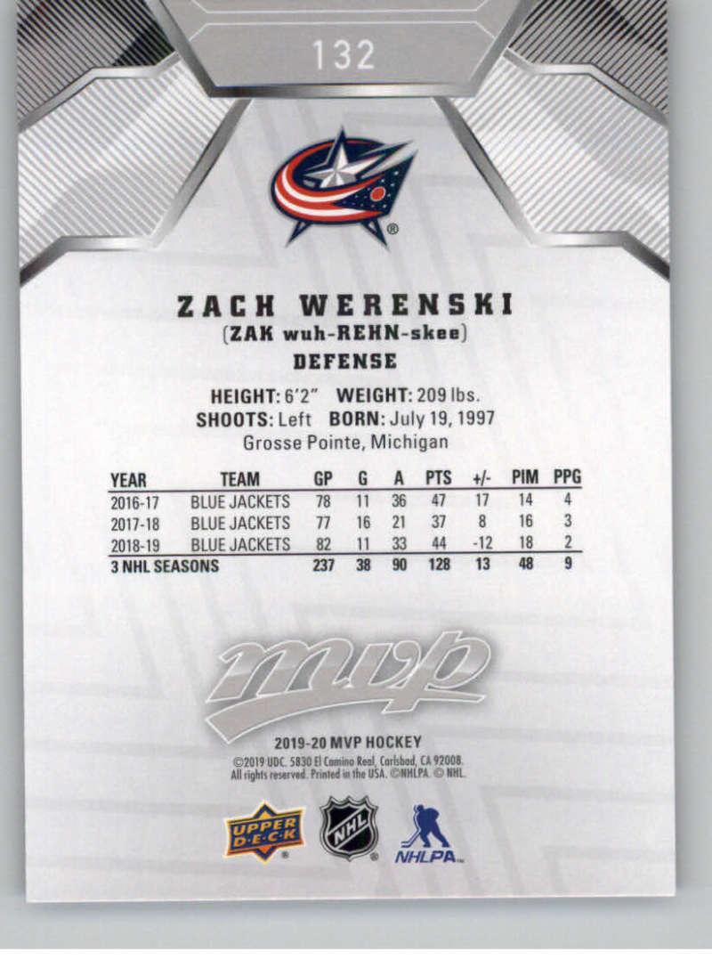 miniature 189 - 2019-20-Upper-Deck-MVP-Silver-Script-NHL-Hockey-Trading-Cards-Pick-From-List