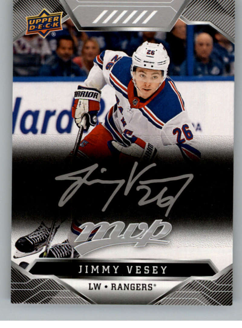 miniature 192 - 2019-20-Upper-Deck-MVP-Silver-Script-NHL-Hockey-Trading-Cards-Pick-From-List