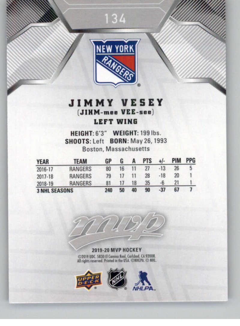 miniature 193 - 2019-20-Upper-Deck-MVP-Silver-Script-NHL-Hockey-Trading-Cards-Pick-From-List