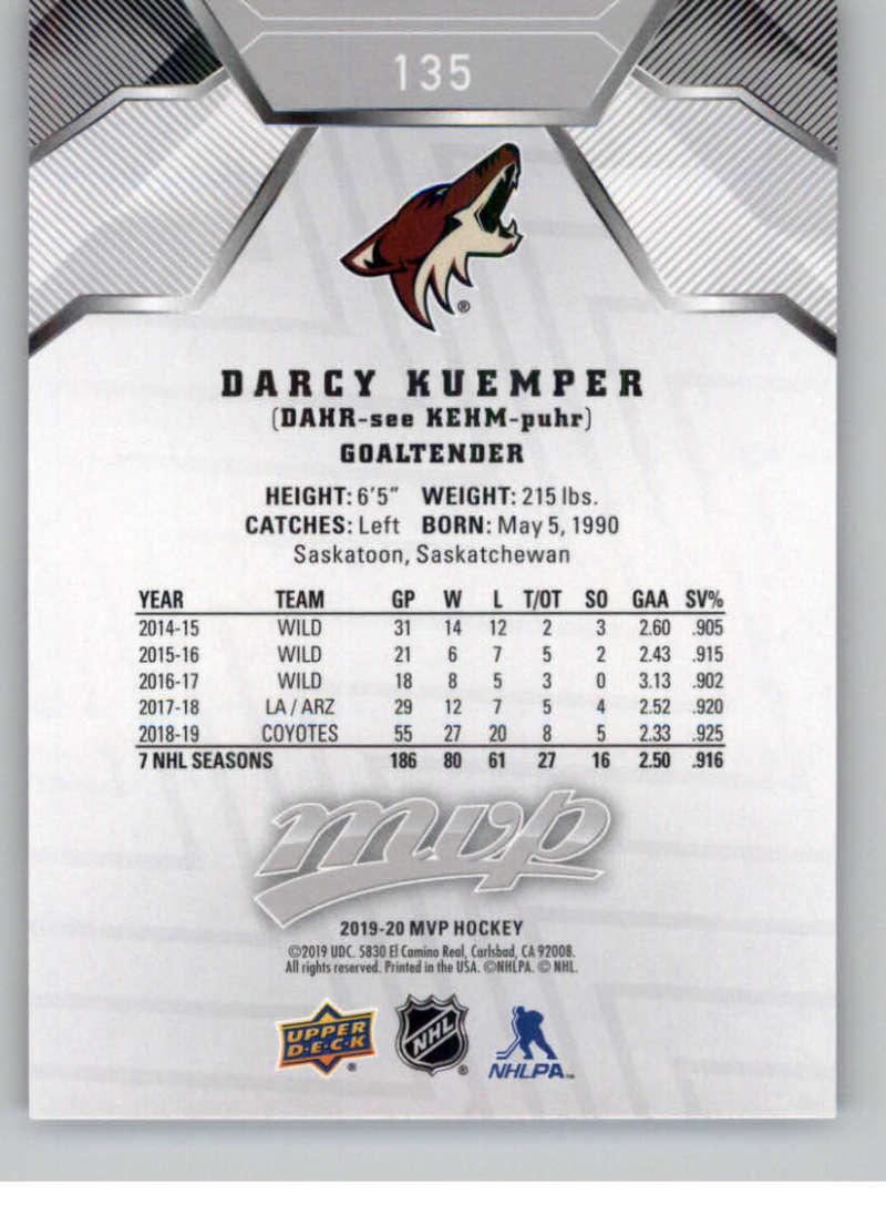 miniature 195 - 2019-20-Upper-Deck-MVP-Silver-Script-NHL-Hockey-Trading-Cards-Pick-From-List