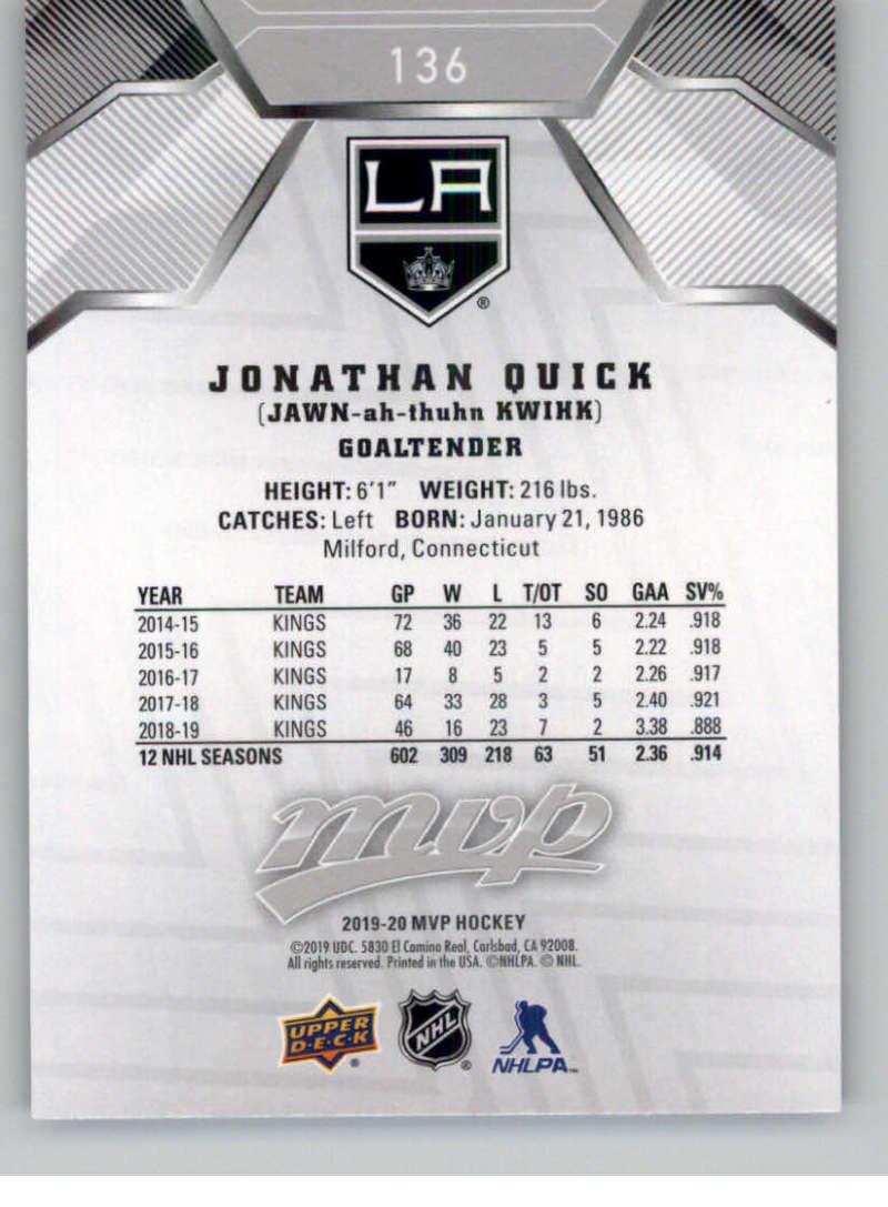 miniature 197 - 2019-20-Upper-Deck-MVP-Silver-Script-NHL-Hockey-Trading-Cards-Pick-From-List