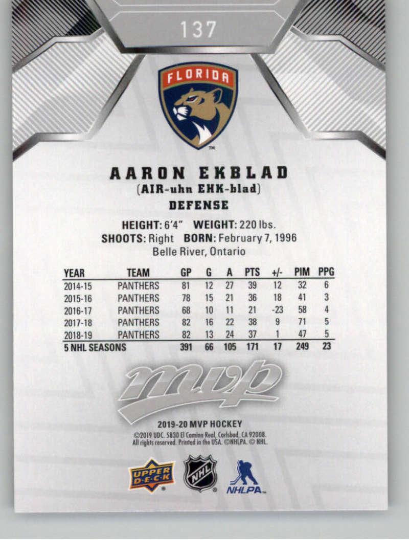 miniature 199 - 2019-20-Upper-Deck-MVP-Silver-Script-NHL-Hockey-Trading-Cards-Pick-From-List