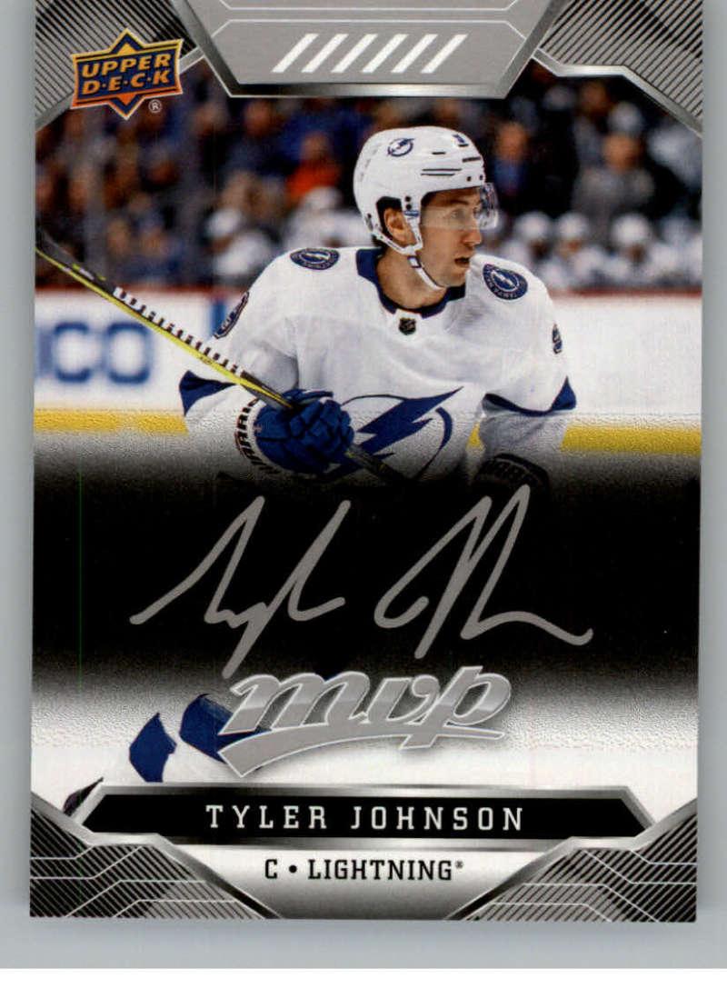 miniature 202 - 2019-20-Upper-Deck-MVP-Silver-Script-NHL-Hockey-Trading-Cards-Pick-From-List