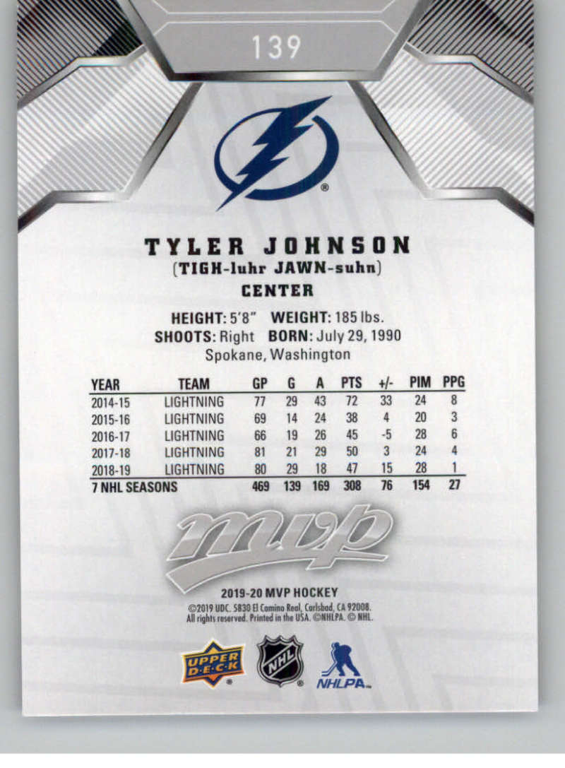 miniature 203 - 2019-20-Upper-Deck-MVP-Silver-Script-NHL-Hockey-Trading-Cards-Pick-From-List
