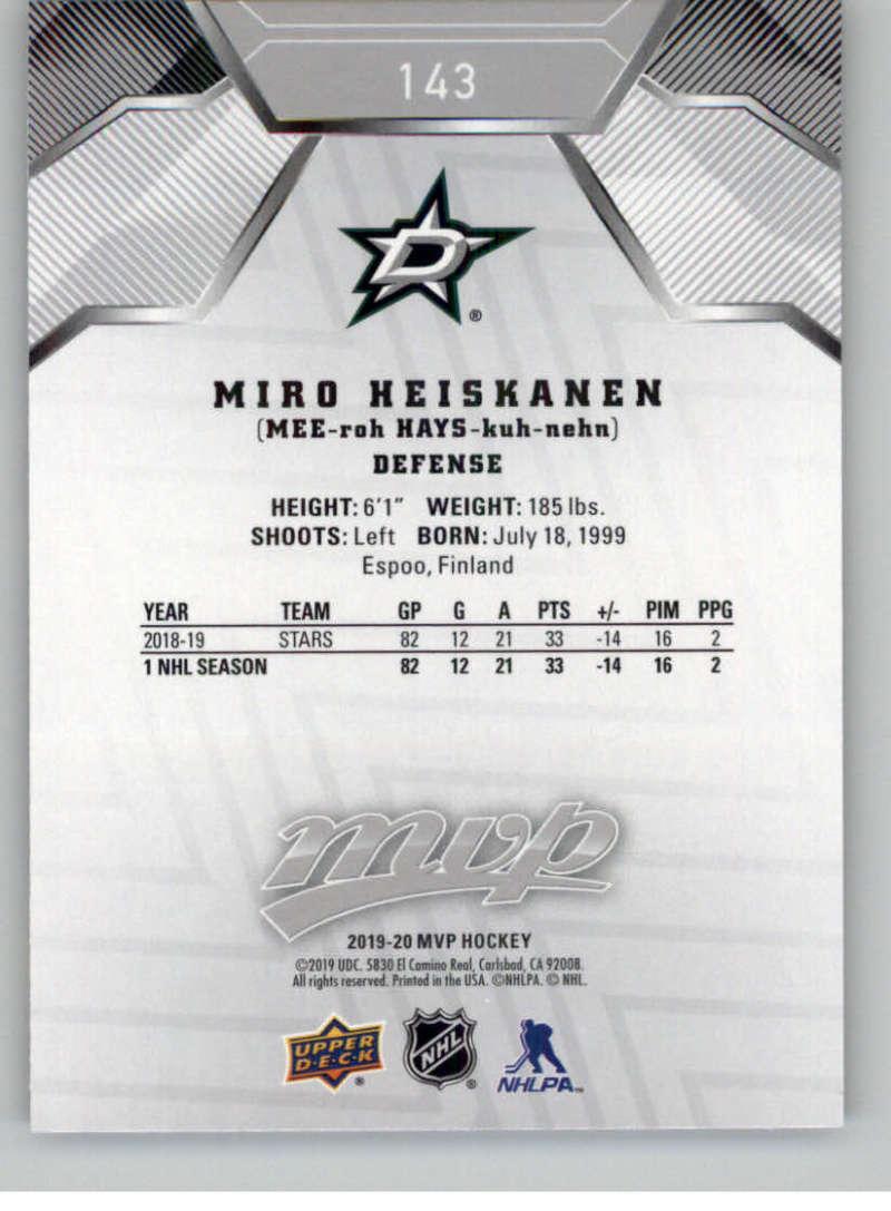 miniature 209 - 2019-20-Upper-Deck-MVP-Silver-Script-NHL-Hockey-Trading-Cards-Pick-From-List