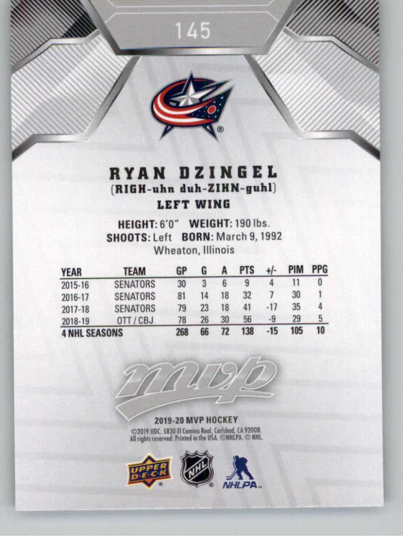 miniature 211 - 2019-20-Upper-Deck-MVP-Silver-Script-NHL-Hockey-Trading-Cards-Pick-From-List