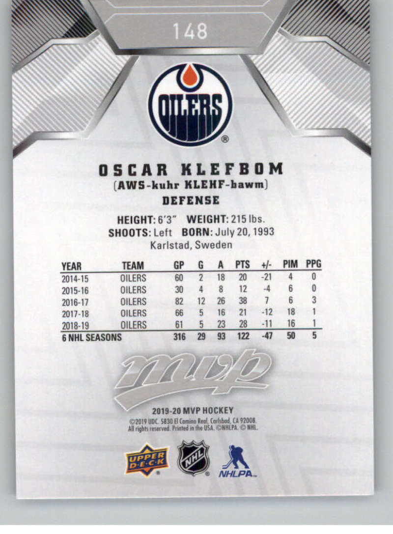 miniature 215 - 2019-20-Upper-Deck-MVP-Silver-Script-NHL-Hockey-Trading-Cards-Pick-From-List