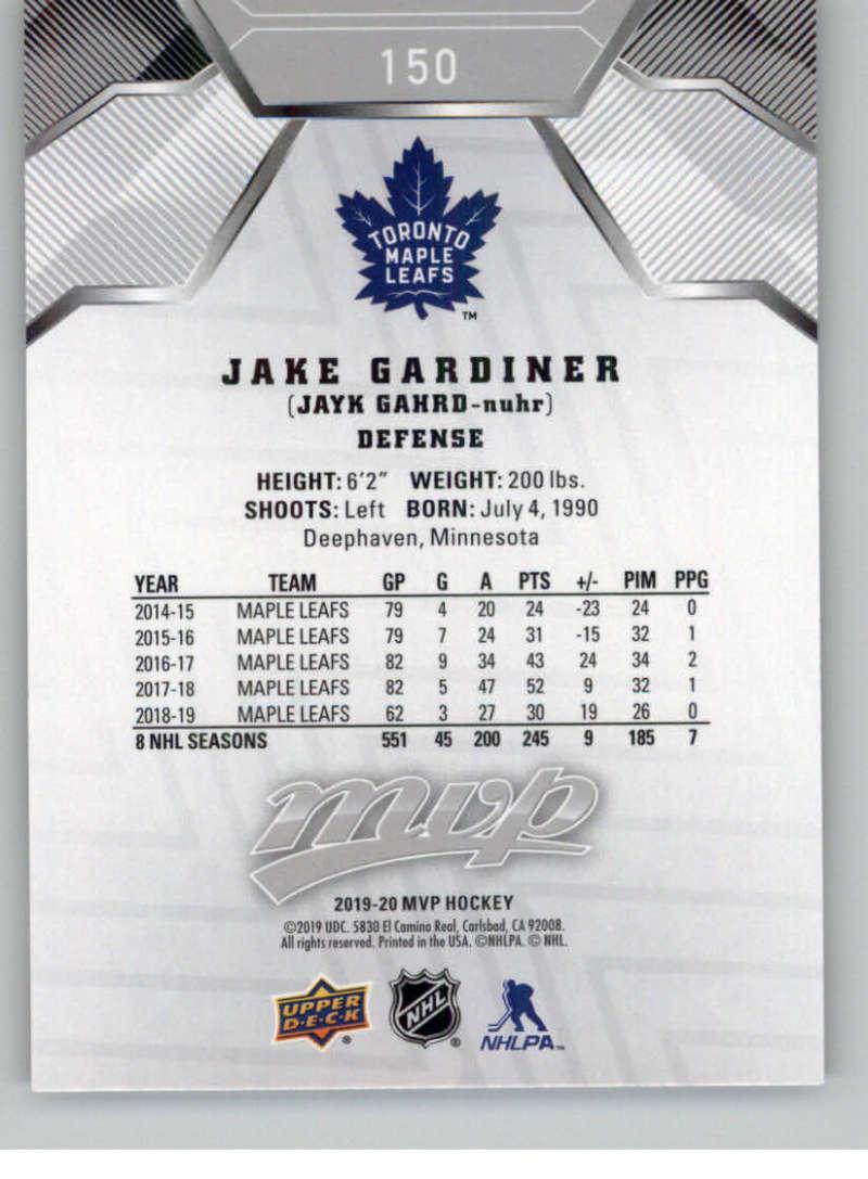 miniature 217 - 2019-20-Upper-Deck-MVP-Silver-Script-NHL-Hockey-Trading-Cards-Pick-From-List