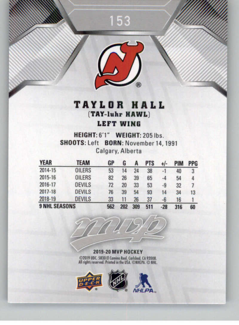 miniature 221 - 2019-20-Upper-Deck-MVP-Silver-Script-NHL-Hockey-Trading-Cards-Pick-From-List