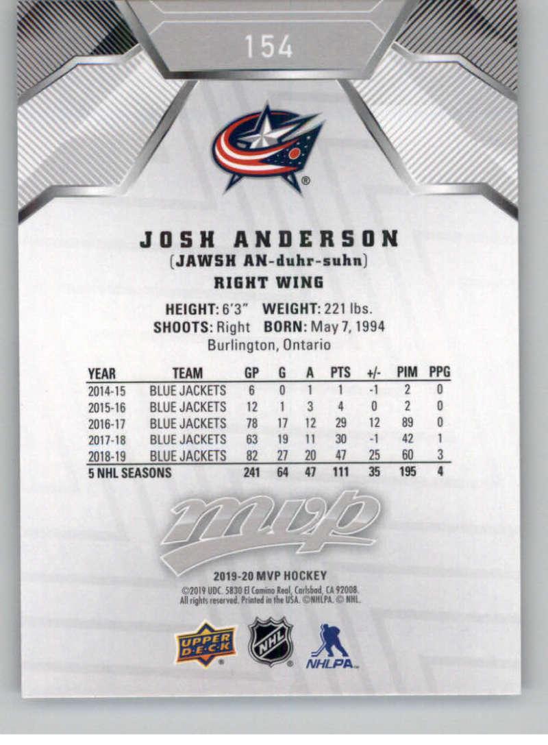 miniature 223 - 2019-20-Upper-Deck-MVP-Silver-Script-NHL-Hockey-Trading-Cards-Pick-From-List