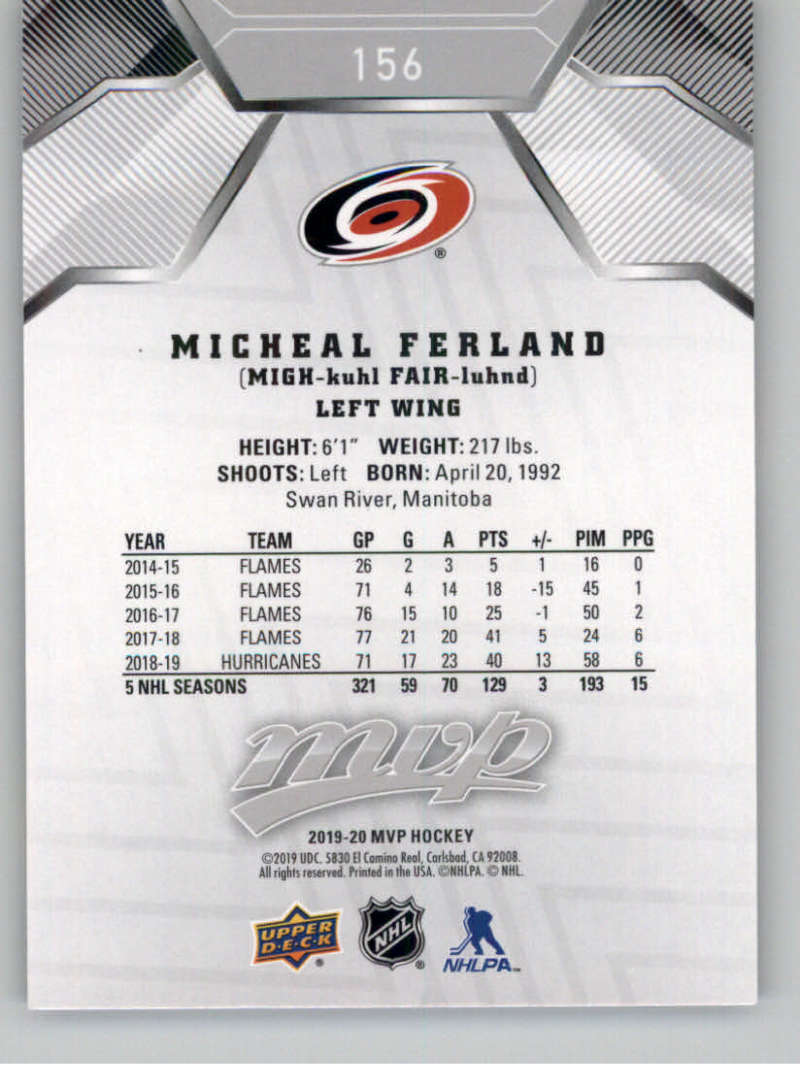 miniature 227 - 2019-20-Upper-Deck-MVP-Silver-Script-NHL-Hockey-Trading-Cards-Pick-From-List
