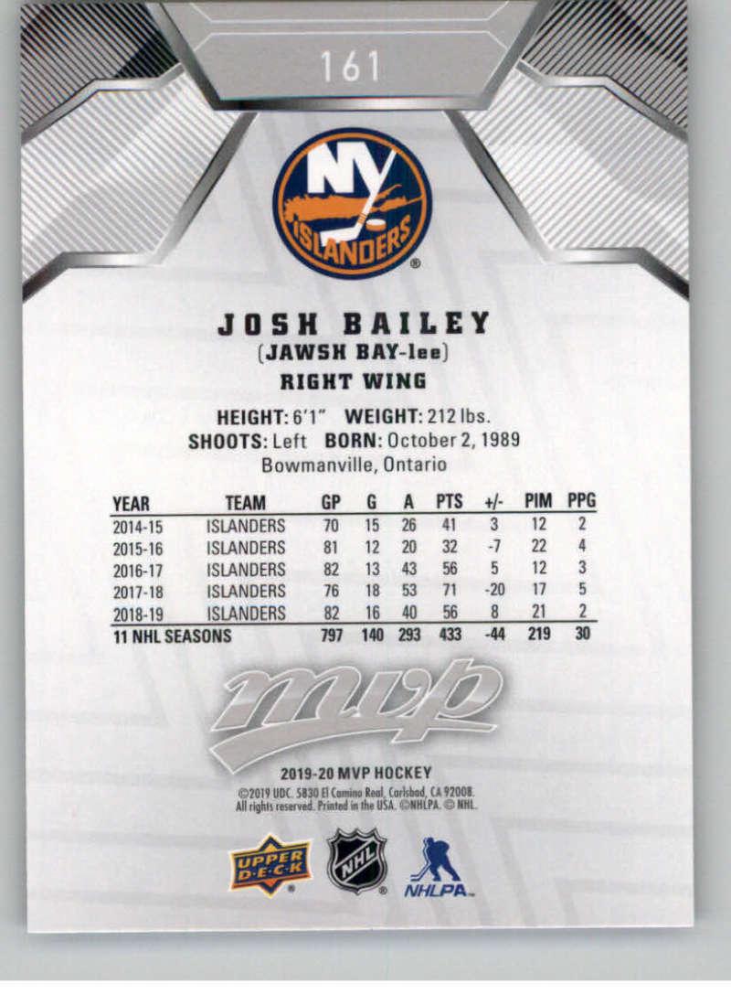 miniature 235 - 2019-20-Upper-Deck-MVP-Silver-Script-NHL-Hockey-Trading-Cards-Pick-From-List