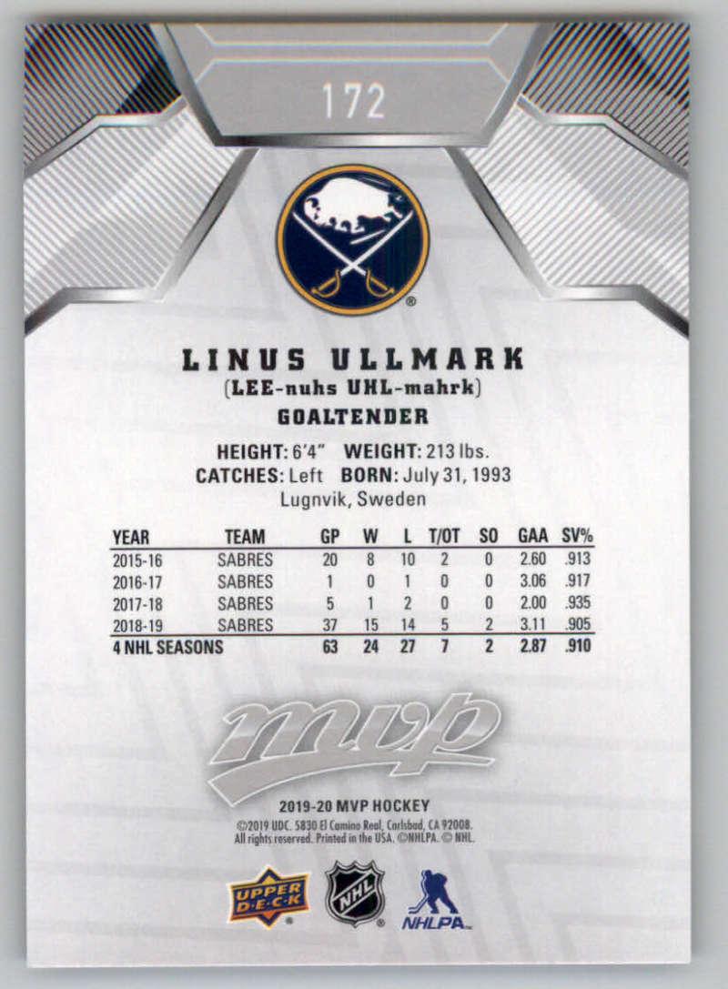 miniature 247 - 2019-20-Upper-Deck-MVP-Silver-Script-NHL-Hockey-Trading-Cards-Pick-From-List