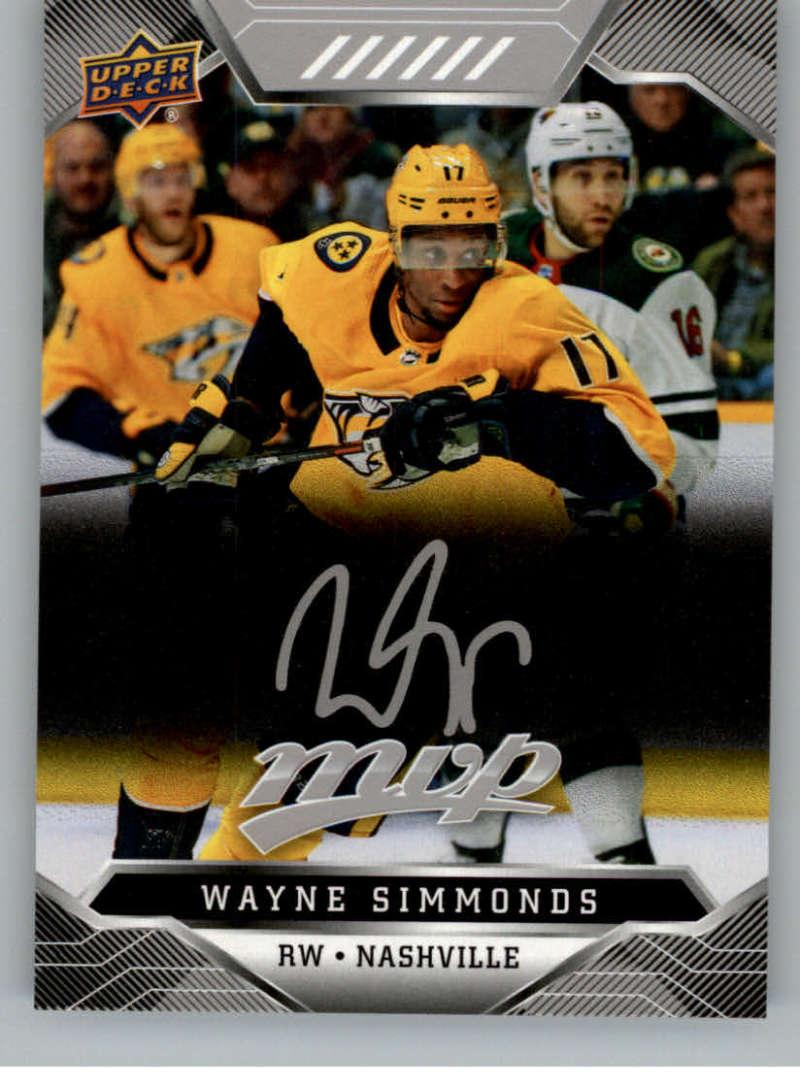 miniature 252 - 2019-20-Upper-Deck-MVP-Silver-Script-NHL-Hockey-Trading-Cards-Pick-From-List