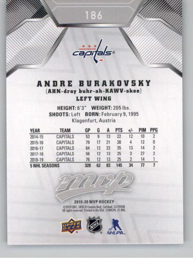 miniature 263 - 2019-20-Upper-Deck-MVP-Silver-Script-NHL-Hockey-Trading-Cards-Pick-From-List