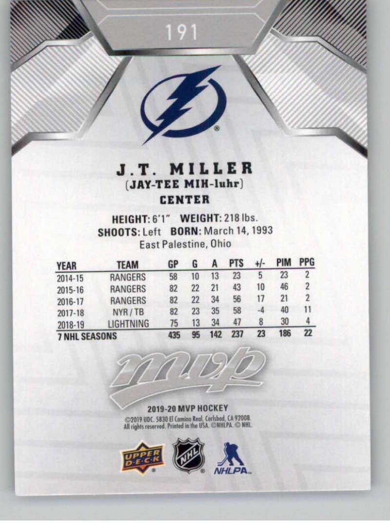 miniature 267 - 2019-20-Upper-Deck-MVP-Silver-Script-NHL-Hockey-Trading-Cards-Pick-From-List