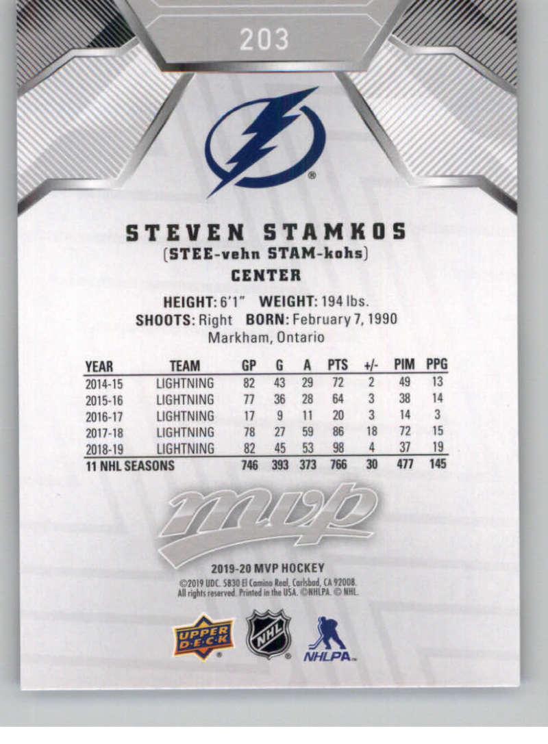 miniature 281 - 2019-20-Upper-Deck-MVP-Silver-Script-NHL-Hockey-Trading-Cards-Pick-From-List