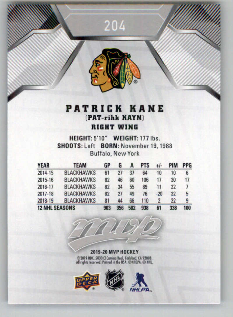 miniature 283 - 2019-20-Upper-Deck-MVP-Silver-Script-NHL-Hockey-Trading-Cards-Pick-From-List