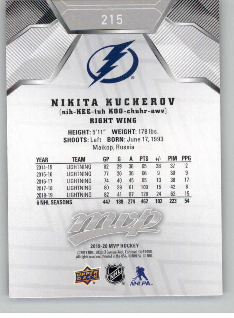 miniature 293 - 2019-20-Upper-Deck-MVP-Silver-Script-NHL-Hockey-Trading-Cards-Pick-From-List