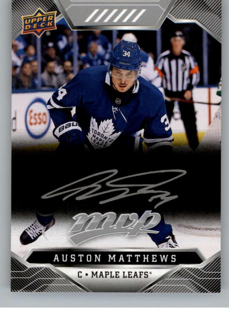miniature 296 - 2019-20-Upper-Deck-MVP-Silver-Script-NHL-Hockey-Trading-Cards-Pick-From-List