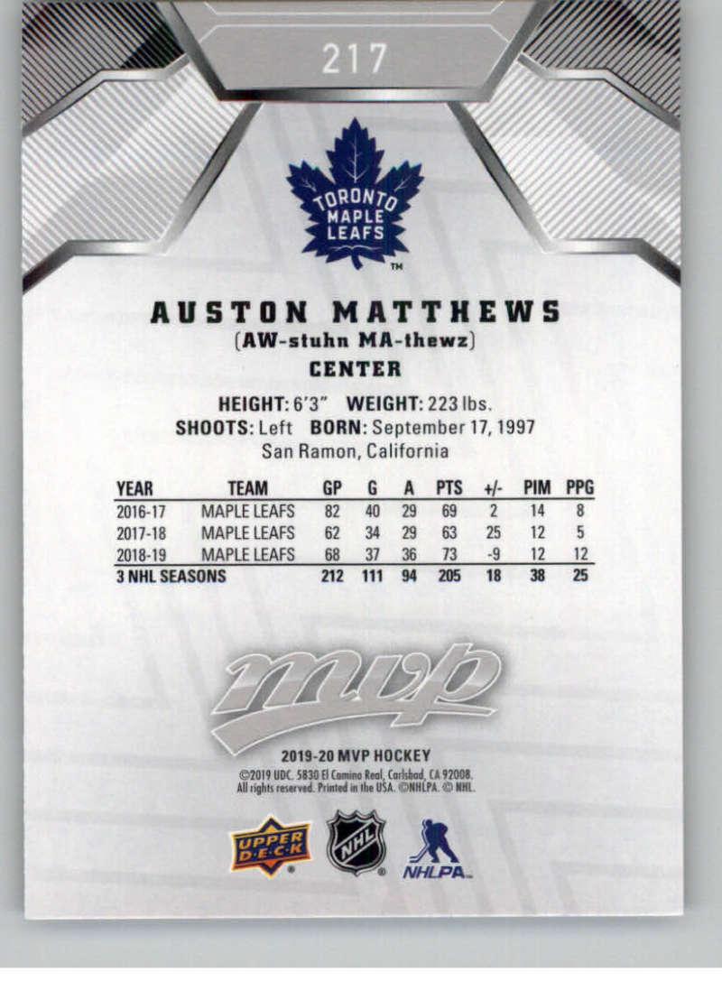 miniature 297 - 2019-20-Upper-Deck-MVP-Silver-Script-NHL-Hockey-Trading-Cards-Pick-From-List